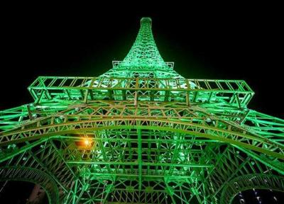 برج ایفل را در کیش ساختند چون ایران جاذبه نداشت!