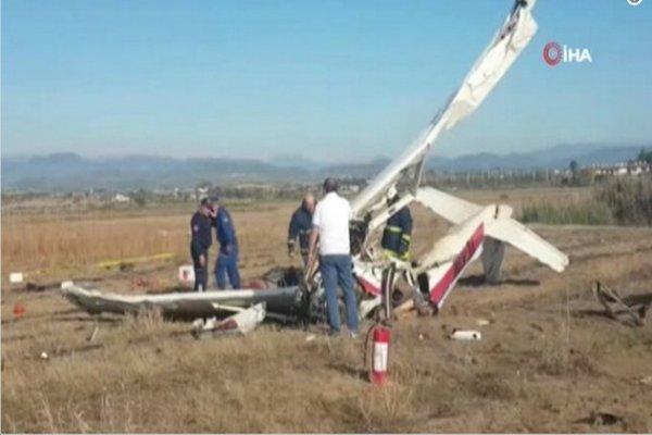 هواپیمای آموزشی در ترکیه سقوط کرد، هر 2 سرنشین آن کشته شدند