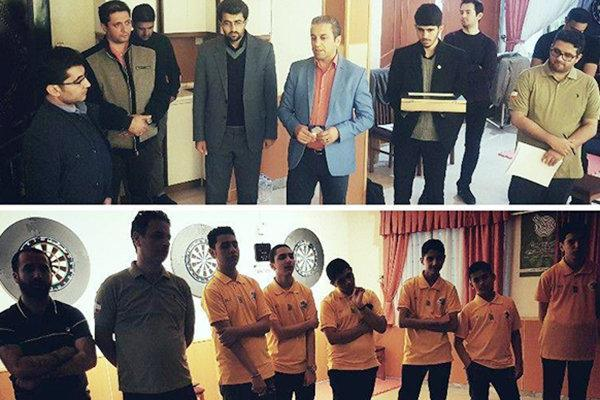 اردوی آماده سازی تیم ملی دارت جوانان کشور در سرعین برپا شد
