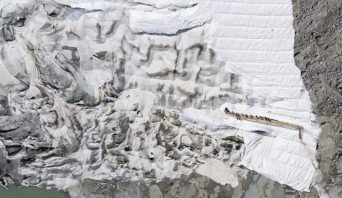یخچال های طبیعی سوئیس عایق بندی شدند! ، تصاویر