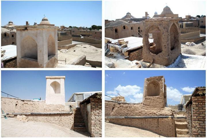 مرمت مسجد تاریخی امام رضا(ع) در نایین