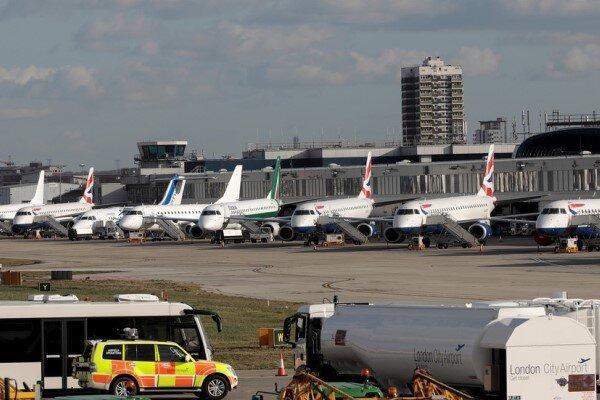 فرودگاه شهر لندن تعطیل می گردد
