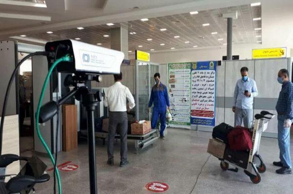 خبرنگاران شناسایی هشت مسافر مبتلا به کرونا در فرودگاه بین المللی لار